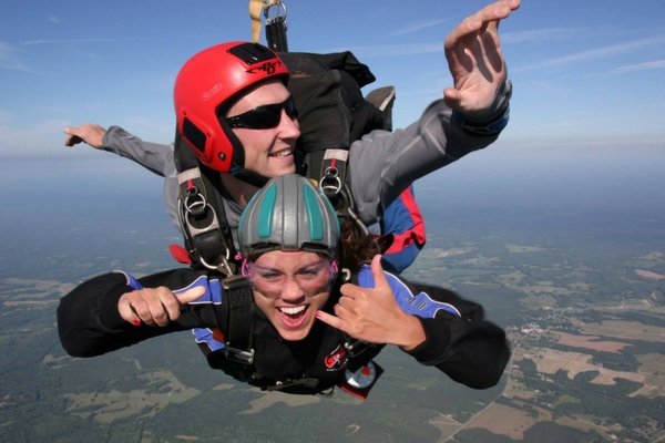 skydiving fundraising