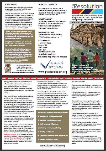PTSD Resolution 2016 Brochure